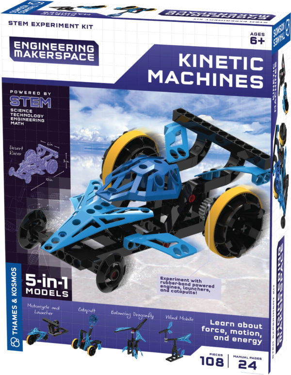 engineering makerspace kinetic machines