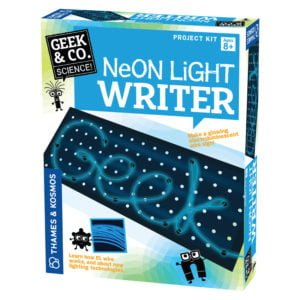 neon light writer