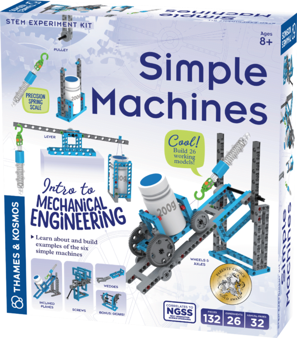simple machines box front