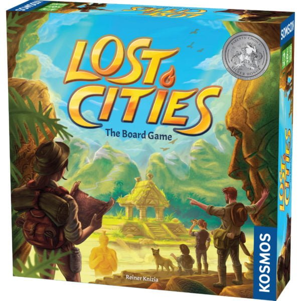 lost cities board