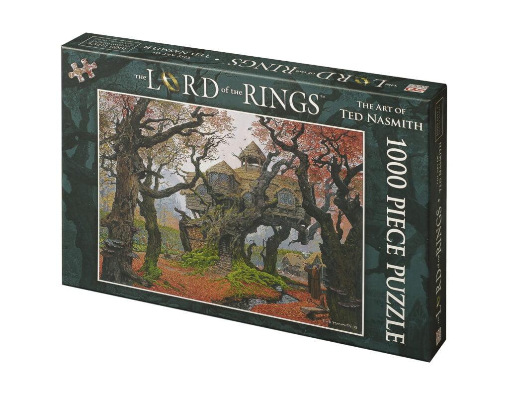 Lord of the Rings jigsaw Rhosgobel box front