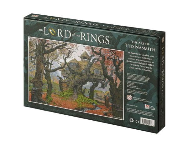 Lord of the Rings jigsaw Rhosgobel box back
