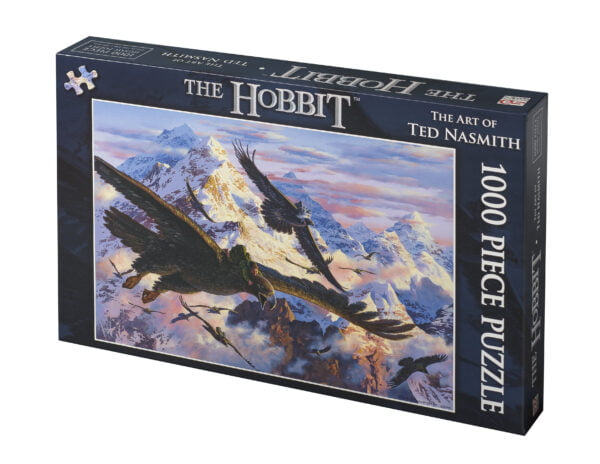 The hobbit jigsaw box front
