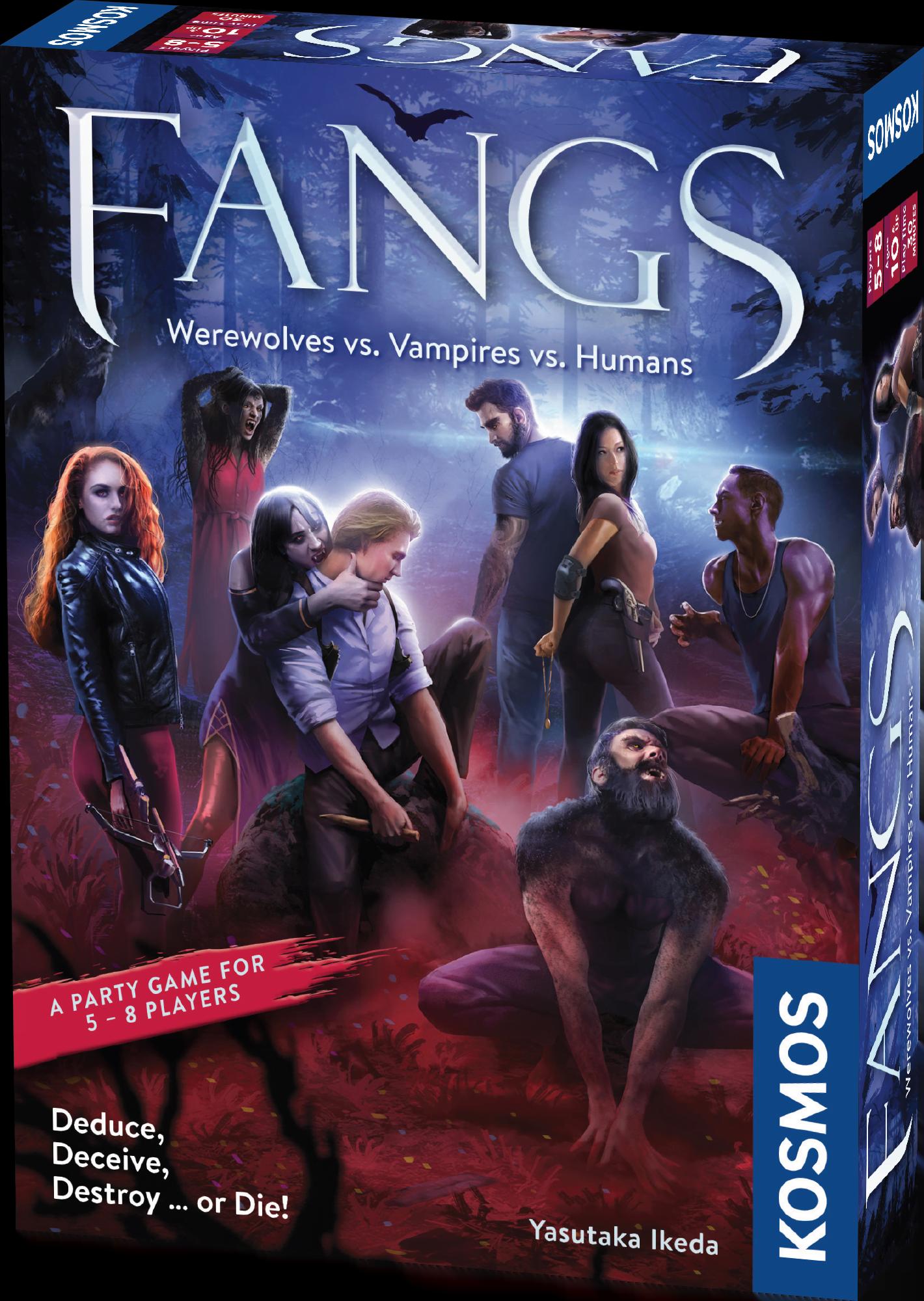 Fangs: Werewolves vs. Vampires vs. Humans -  Thames and Kosmos