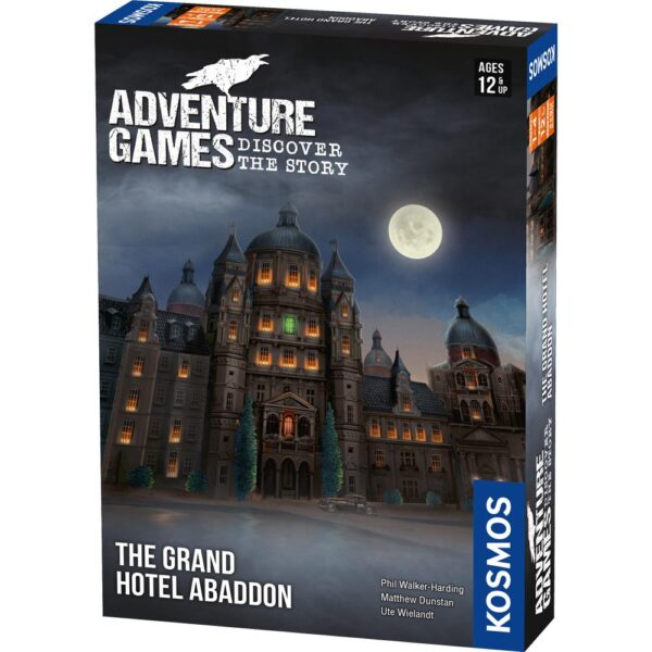 grand hotel abaddon adventure game