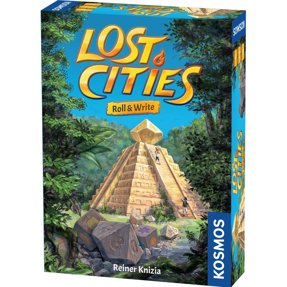 Lost Cities Roll and Write - Thames and Kosmos