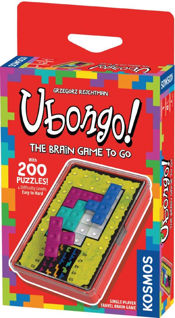 Ubongo brain box front